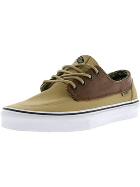78c2bc36a8d756 Vans Brigata C And L Moroccan Geo   Khaki Ankle-High Canvas Skateboarding  Shoe -