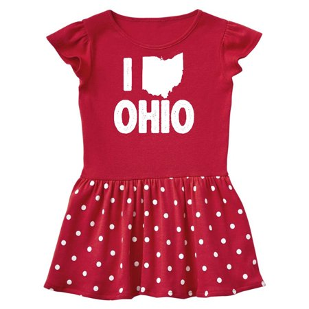 I Love Ohio with State Silhouette Toddler