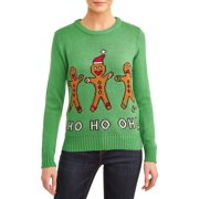 American Stitch Women's Ho Ho Oh! Ugly Christmas Sweater