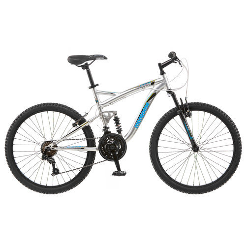 Mongoose Boy's Status 2.2 24''  Full Suspension Mountain Bike