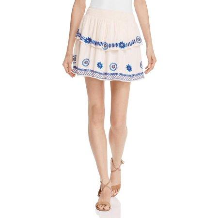 Rahi Cali Womens Mini Casual Peasant, Boho Skirt