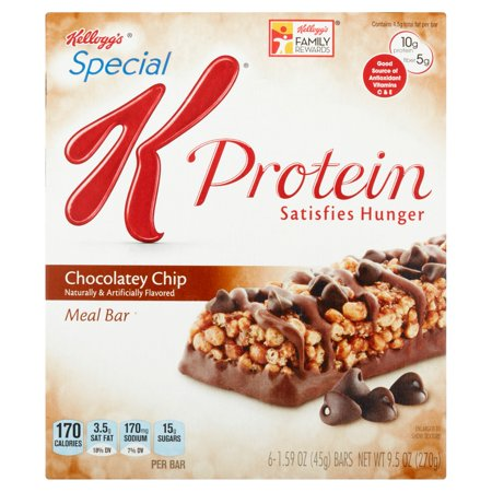 Kellogg S Special K Chocolate Chip Bars