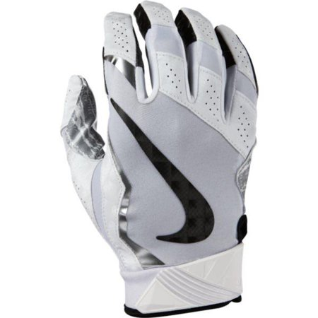 Mens Vapor Glove Shoes - Nike Men's Vapor Jet 4.0 2017 Football Receiver Gloves GF0572-100 White/Metallic Silver/Black