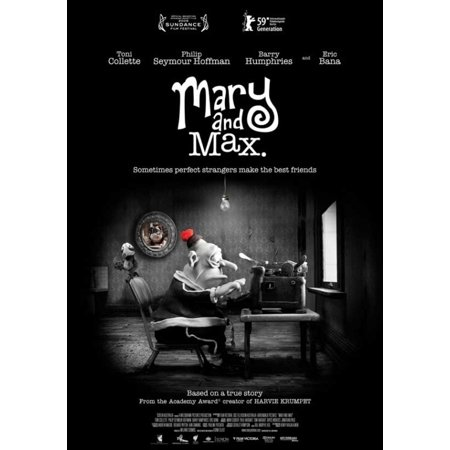 Mary And Max Movie Poster 11 X 17 Walmart Com Walmart Com