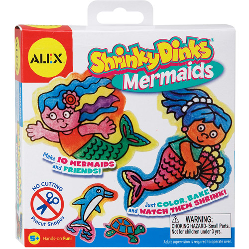 ALEX Toys - Shrinky Dinks Kit, Mermaids Jewelry