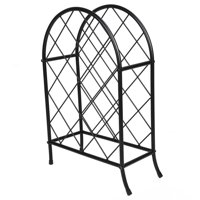 Tebru Iron Wine Rack, Household Wine Rack,Iron Wine Rack Household Wine Storage Rack Wine Display Stand Wine Holder