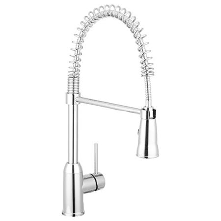 Rainier Pull Down Kitchen Faucet Gooseneck Style Chrome By Pacific