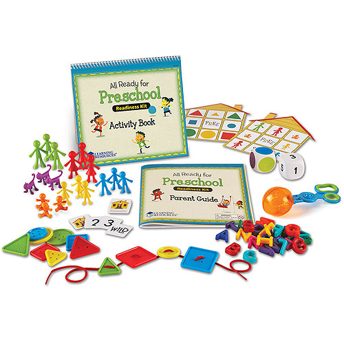 Learning Resources All Ready for Preschool Readiness Kit by LEARNING RESOURCES