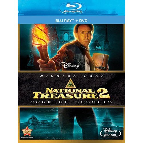 NATIONAL TREASURE 2-BOOK OF SECRETS (BLU-RAY/DVD/2 DISC COMBO)