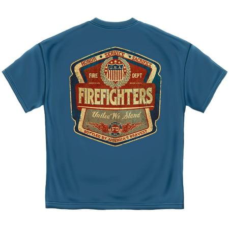 Cotton Firefighter Denim Fade (Miniature Pinscher Denim Shirt)