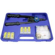 """ASTRO PNEUMATIC 1442 Riveter Kit,13"""" Nut/Thread,w/NSPC"""
