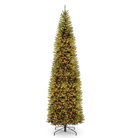 12 ft. Kingswood Fir Pencil Tree with Clear Lights