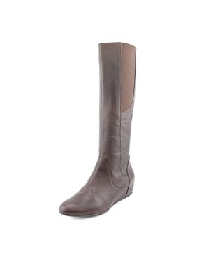 fe7cdd524fd8 Product Image Enzo Angiolini Deanjaw Women Round Toe Leather Brown Knee  High Boot