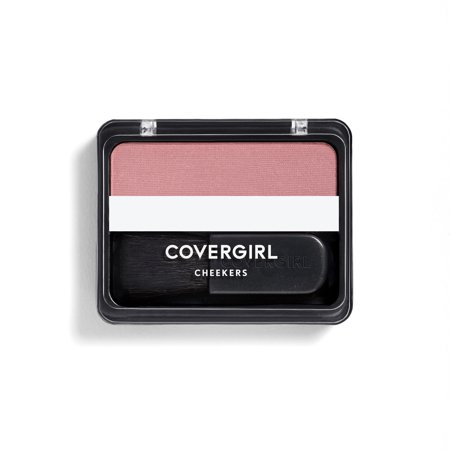 (COVERGIRL Cheekers Blendable Powder Blush, 154 Deep Plum)