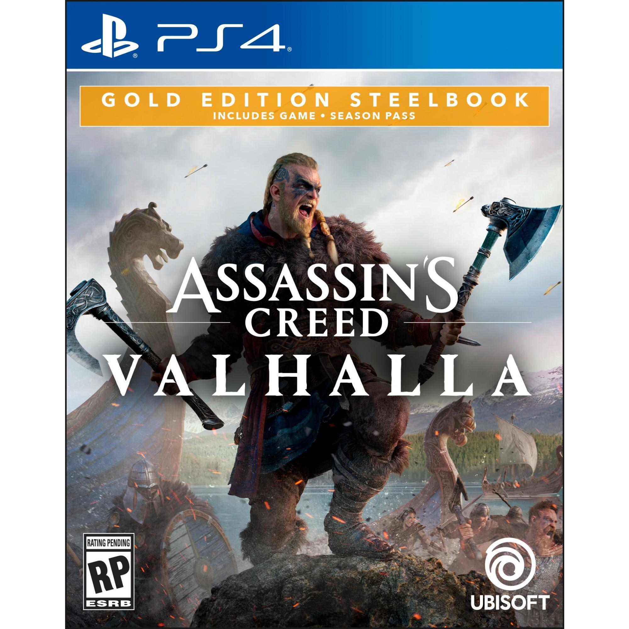 Assassin S Creed Valhalla Gold Edition Steelbook Ubisoft