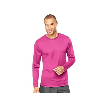 2741680e5332c Hanes - Sport Mens Cool DRI Performance Long Sleeve Tshirt (50+ UPF) -  Walmart.com