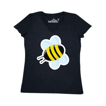 Bumble Bee Women's V-Neck - Bumble Bee Tshirt