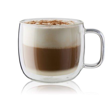 ZWILLING Sorrento Plus 2-pc Double-Wall Glass Cappuccino Mug -