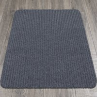 Ottomanson Lifesaver Utility Ribbed Carpet Indoor/Outdoor Mat Area Rug or Runner