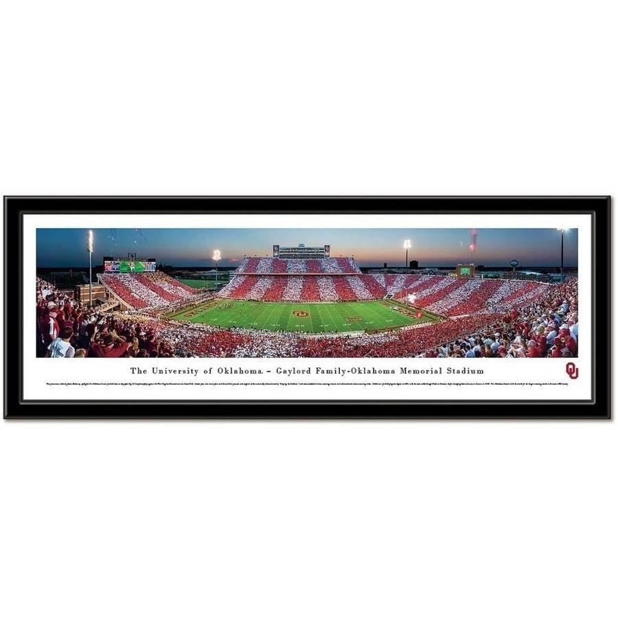 Oklahoma Sooners Framed Stadium Print