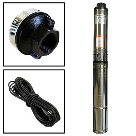 Deep Well Submersible Pump; 4