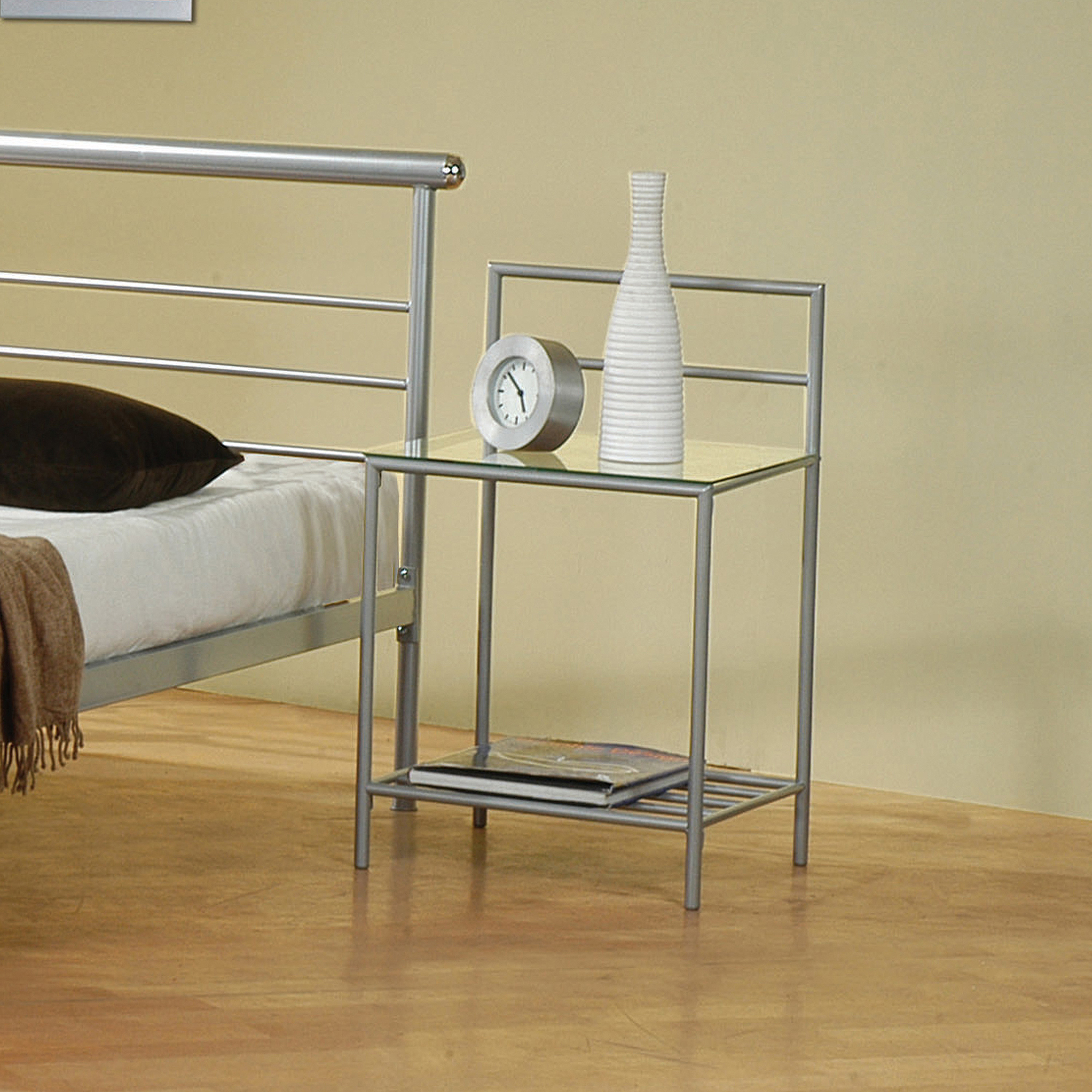 Coaster Shelton Metal Nightstand, Item 300222 by Coaster