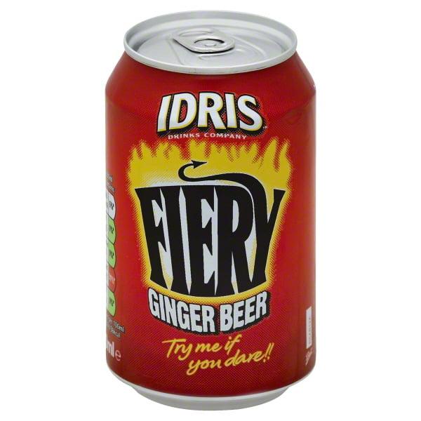 Idris Fiery Ginger Beer, 12 fl oz