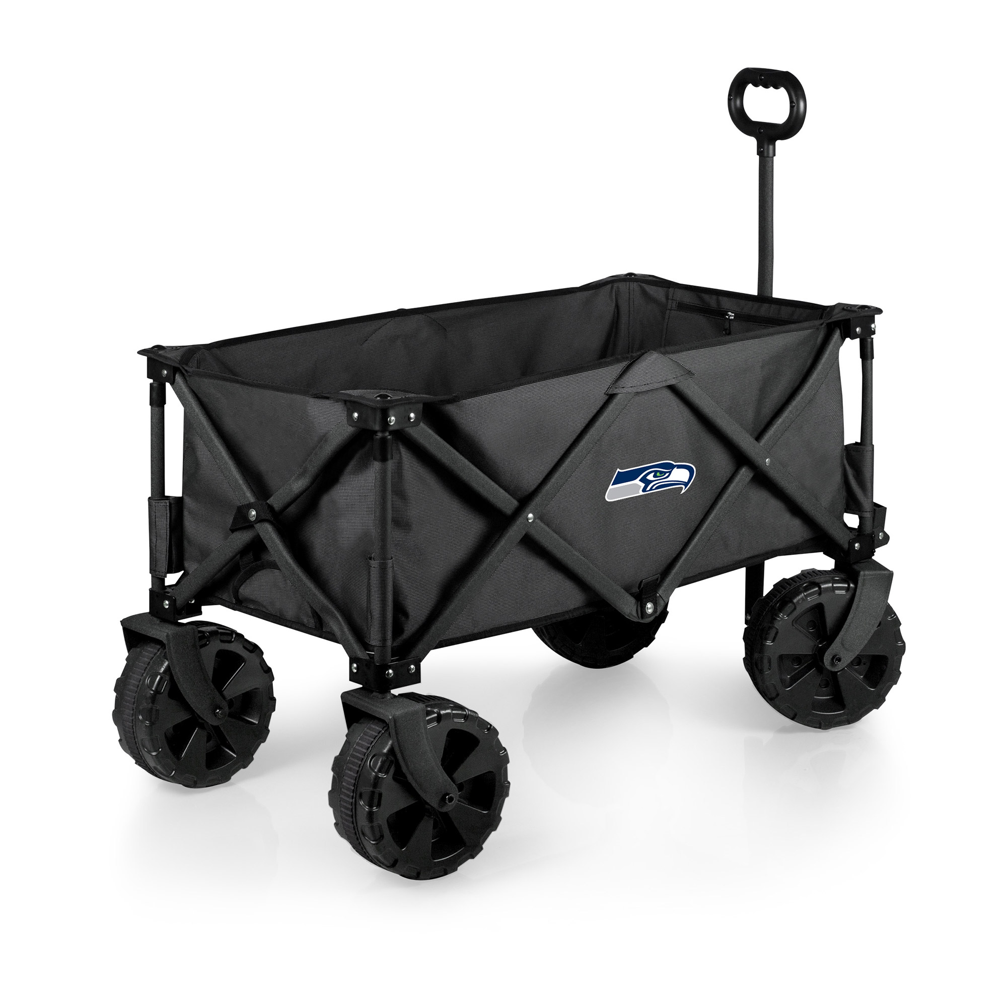 Seattle Seahawks Adventure Wagon Elite All-Terrain Folding Utility Wagon - Charcoal - No Size