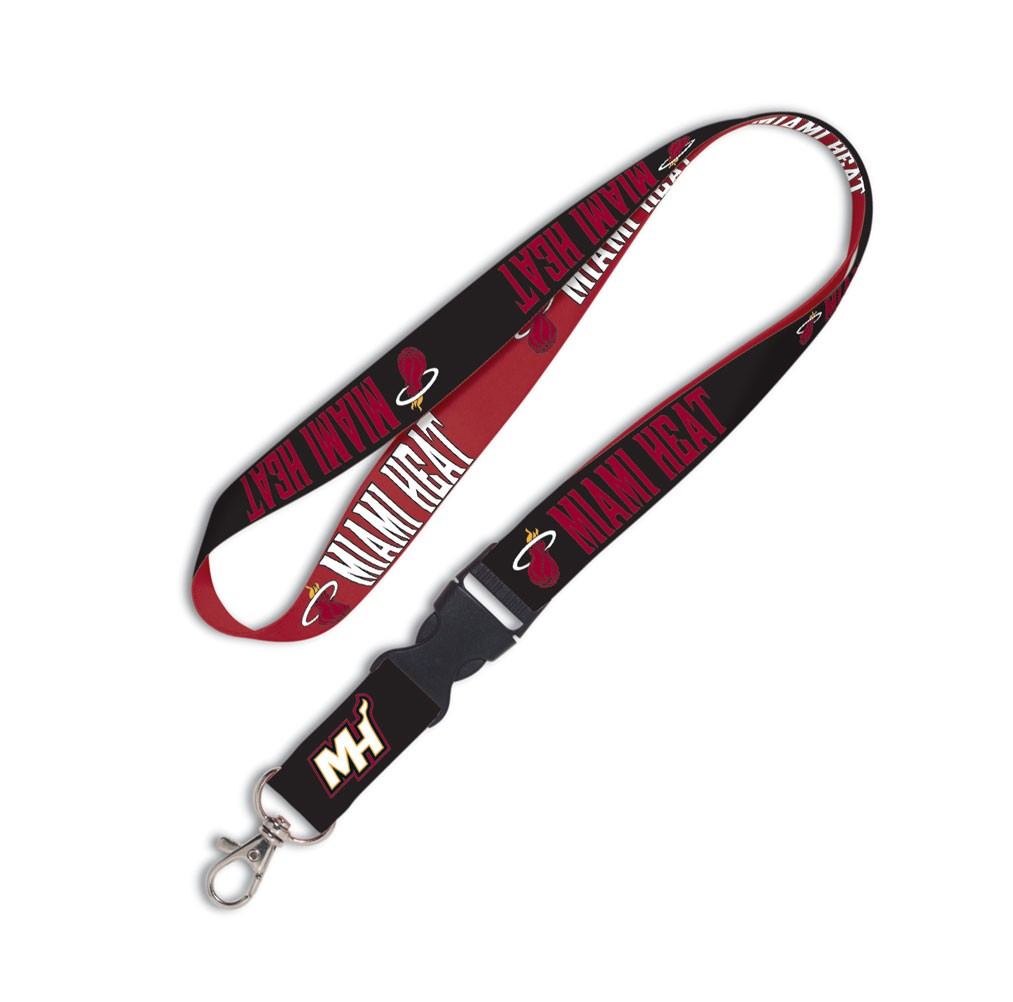 Miami Heat Official NBA 20 inch  Lanyard Key Chain Keychain by WinCraft