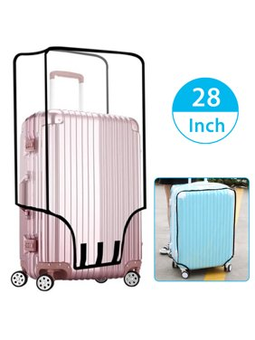 """20"""" 22"""" 24"""" 26"""" 28"""" Waterproof Travel Luggage Protector Case PVC Baggage Cover Suitcase Protective Cover"""