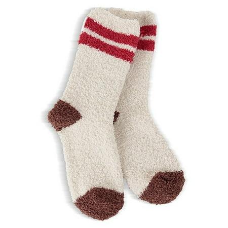 World's Softest Socks MC Cozy Crew - Terrene Stripe - Youth S