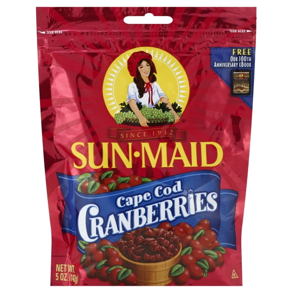 Sun Maid Growers Sun Maid  Cranberries, 5 oz