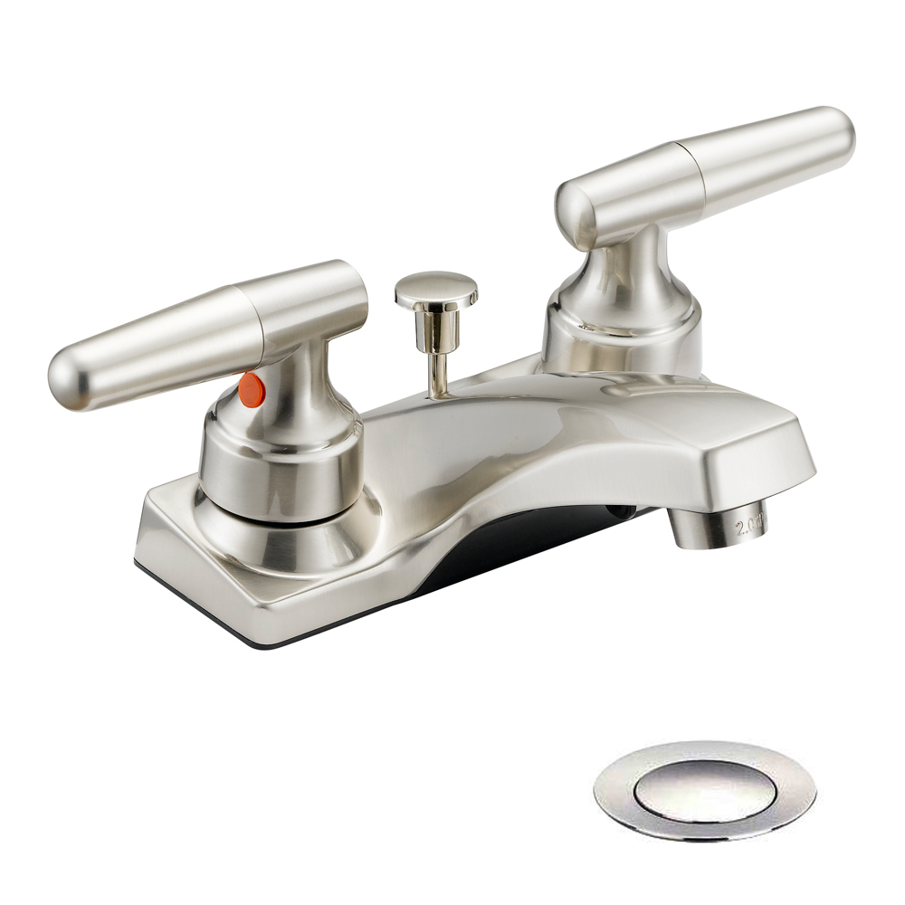 Designers Impressions 615656 Satin Nickel Lavatory Vanity Faucet