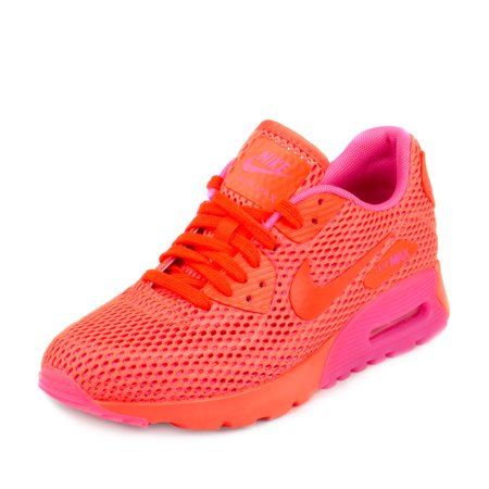 Nike Womens Air Max 90 Ultra BR Total Crimson/Pink Blast 725061-800