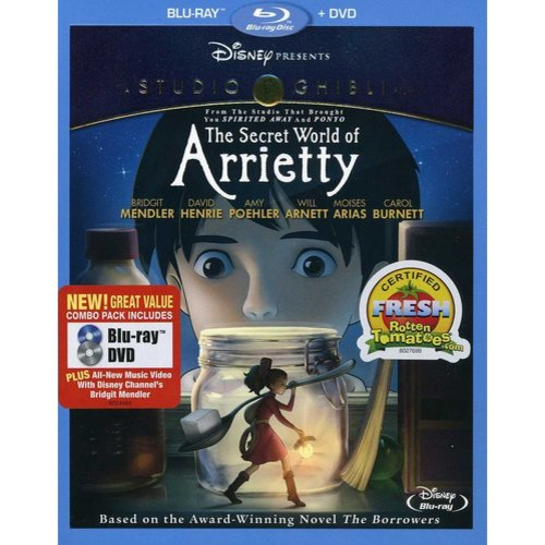 The Secret  World Of Arrietty (Blu-ray + DVD) (Widescreen)