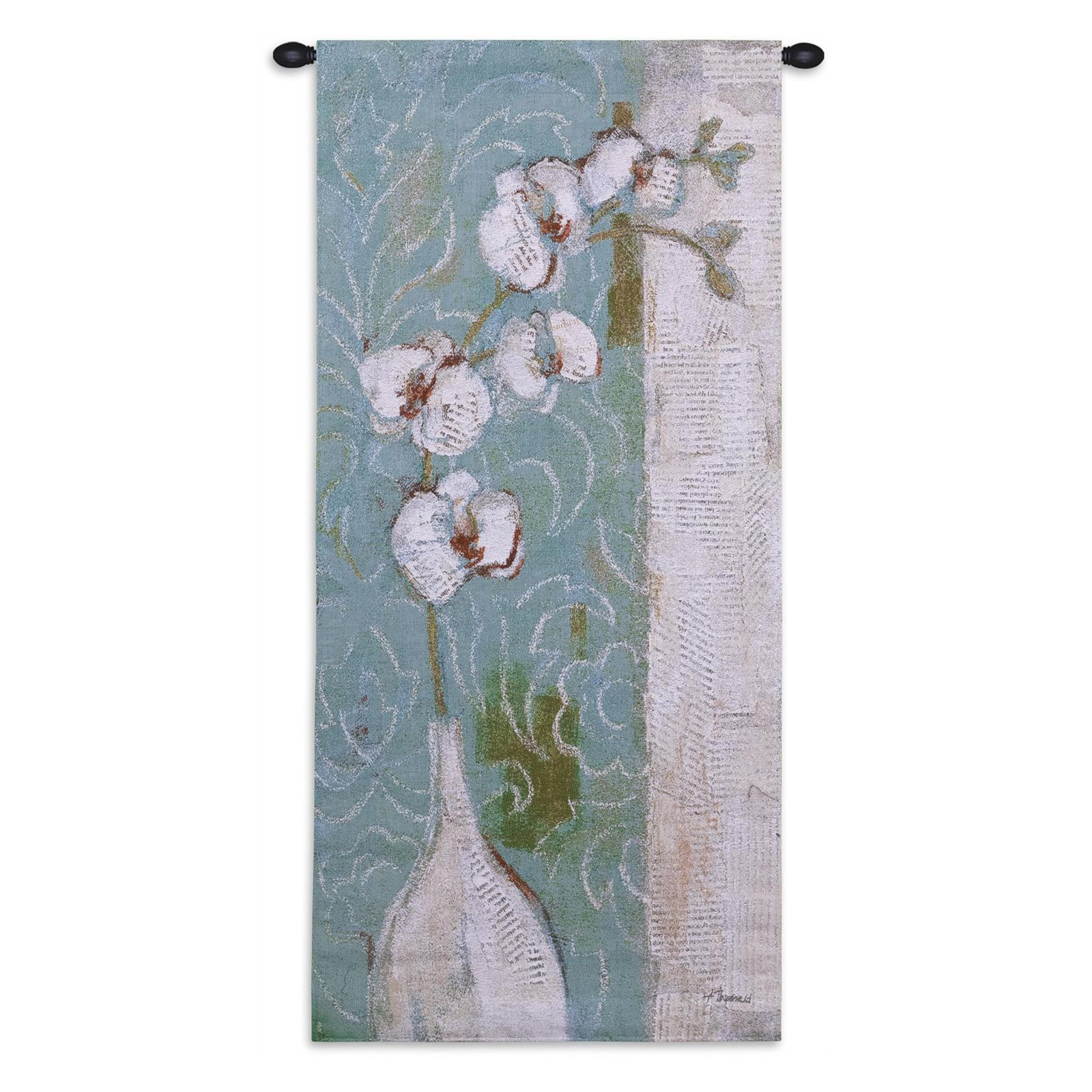 Fine Art Tapestries Spa Orchid Wall Tapestry by Supplier Generic