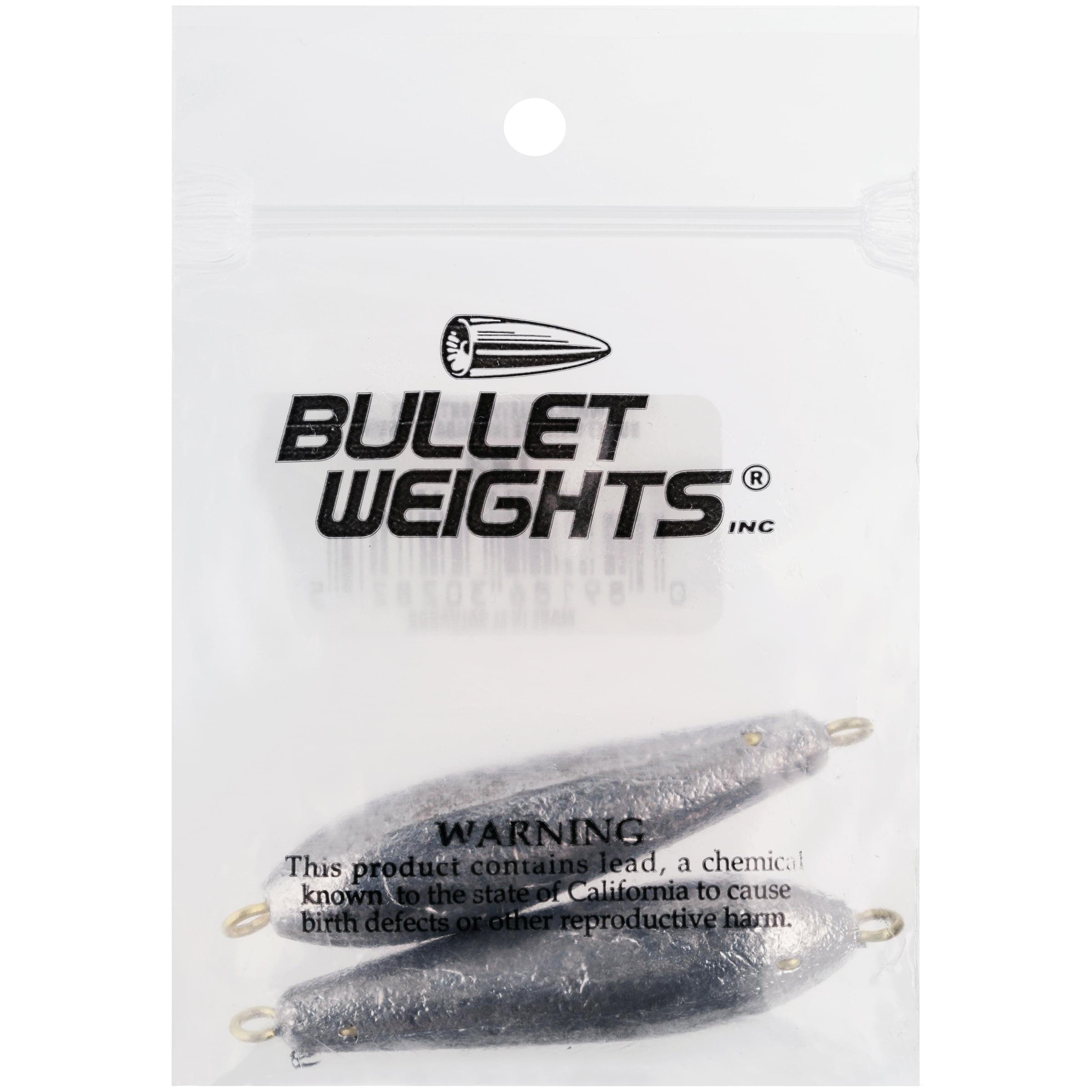 Bullet Weights® Trolling Sinker 3 oz 2 sinkers