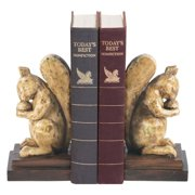 Elk Lighting Acorn Lover Bookends