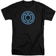 Green Lantern Lt Blue Emblem Mens Big and Tall Shirt