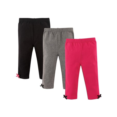 Toddler Girl Leggings, 3-pack