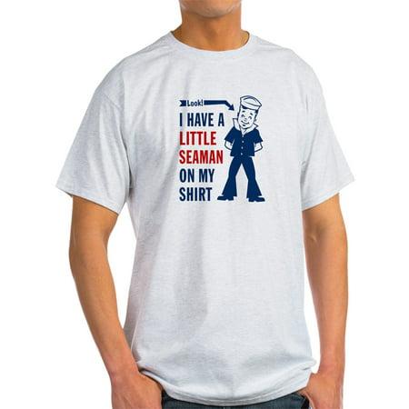 Blue And White My Little Pony (CafePress - ...A Little Seaman On My Shirt - - Light T-Shirt -)