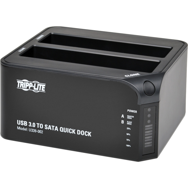 "Tripp Lite USB 3.0 to Dual SATA Hard Drive Docking Station for 2.5/3.5"" HDD"