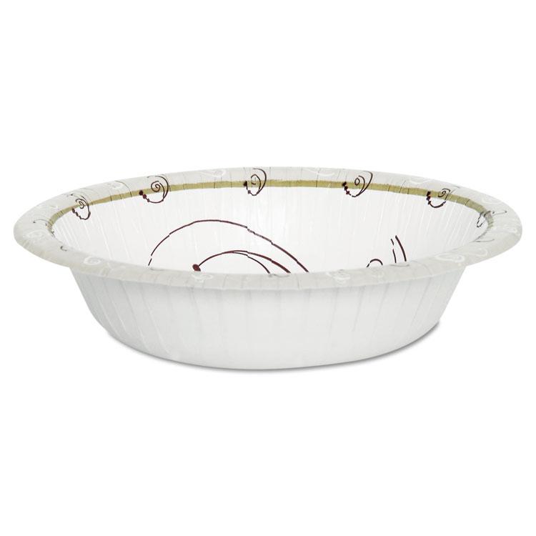 Symphony Paper Dinnerware, Heavyweight Bowl, 12oz, Tan, 1000/carton