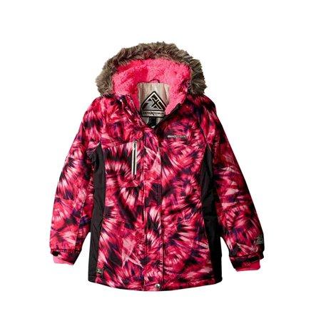 656ec4fa36cd ZeroXposur - ZeroXposur Girls Pink Winter Ski Coat Puffer Snowboard ...