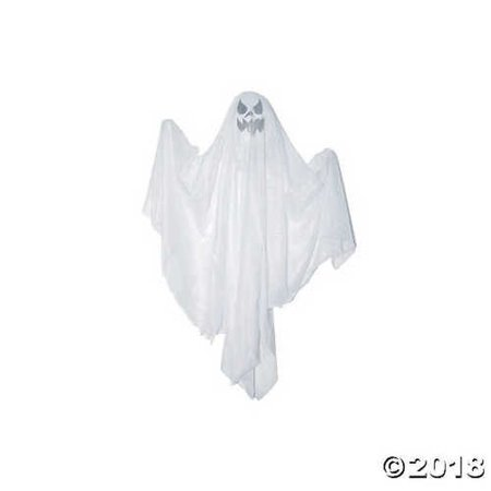Hanging Ghost with Spooky Faces Halloween Décor