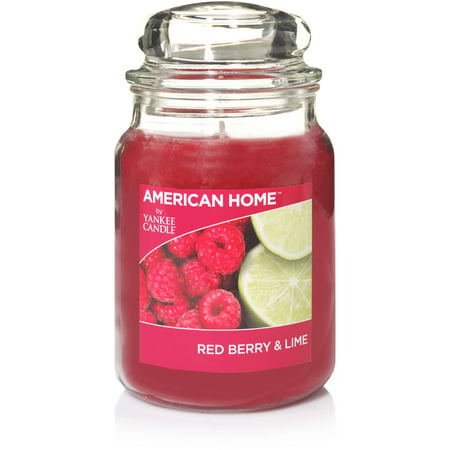 American Home by Yankee Candle Red Berry and Lime 19 oz Large Jar Candle