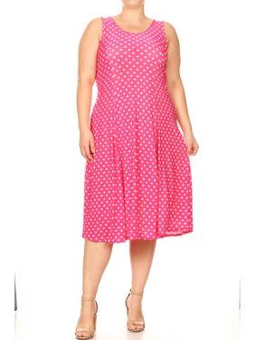 f44dd428cae39 Product Image Plus Size Women s Sleeveless Midi Dress