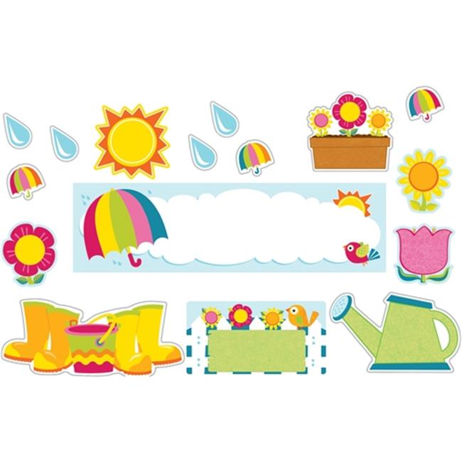 Carson Dellosa CD-110309 Spring Mini Bulletin Board Set