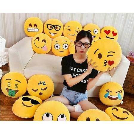 Emoji Plush Expression Pillow Pity Face Walmart Canada