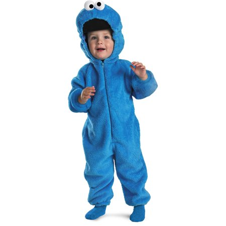 Sesame Street Baby Cookie Monster Plush Costume - Court Street Halloween